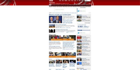 BBC Responsive Design Example